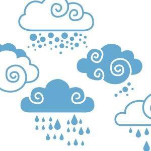 Vinilo Nubes