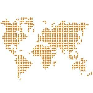 Vinilo Mapa Mundi
