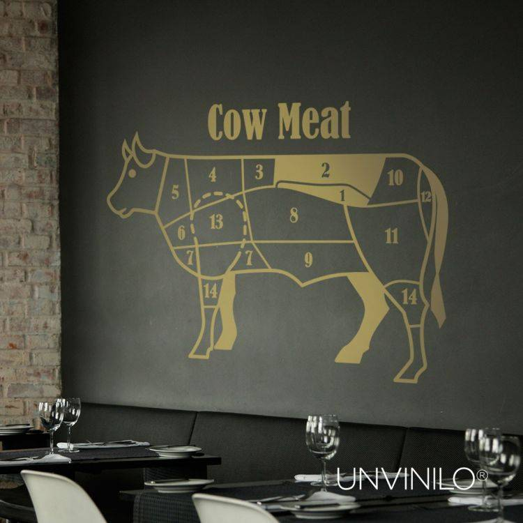 Vinilo Vaca