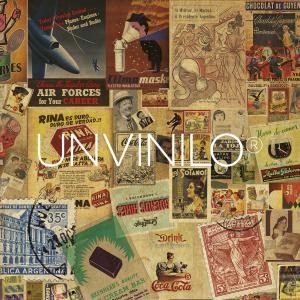 Vinilo Collage Vintage