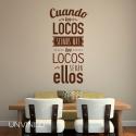 Vinilo de Locos