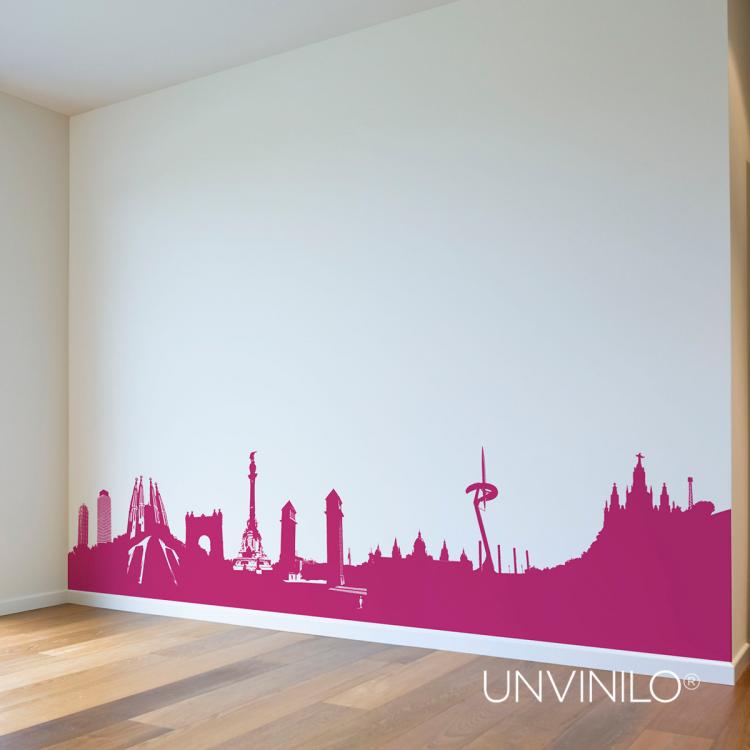 Vinilo Skyline BCN