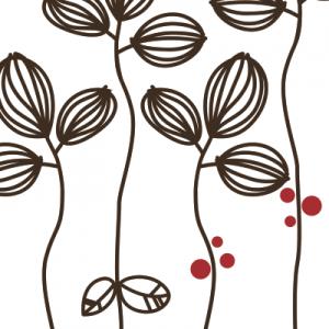 Vinilo Flores Organicas