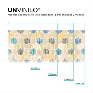 Vinilo Hoja Hexagonal