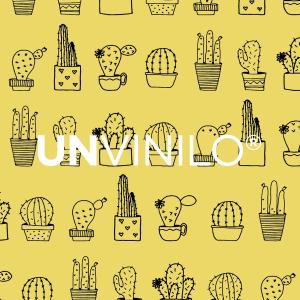 Vinilo Cactus Amarillo
