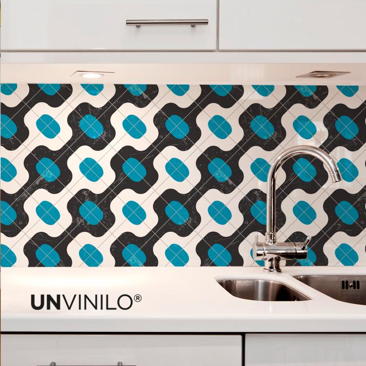 Vinilo Mosaico Hidraulico Portugues