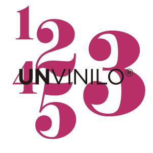 MINI-VINILO Numeros